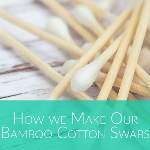 how are bamboo cotton swabs made by Bali Boo