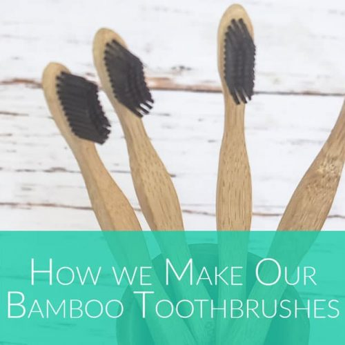 How are bamboo toothbrushes made - by Bali Boo